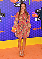 Danica Patrick at the Nickelodeon Kids' Choice Sports Awards 2018 at Barker Hangar, Santa Monica, USA 19 July 2018<br /> Picture: Paul Smith/Featureflash/SilverHub 0208 004 5359 sales@silverhubmedia.com