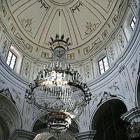 La cupola della Chiesa di San Salvatore a Petralia Soprana..The cupole of the Church of San Salvatore in Petralia Soprana
