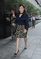 NEW YORK, NY August 09: Mayim Bialik seen at Good Day New York promoting her new book Boying Up: How to be Brave, Bold and Brilliant on August 09, 2018 in New York City. <br /> CAP/MPI/RW<br /> &copy;RW/MPI/Capital Pictures