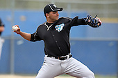 March 29, 2010:  Pitcher Reidier Gonzalez of the Toronto Blue Jays organization during Spring Training at the Englebert Minor League Complex in Dunedin, FL.  Photo By Mike Janes/Four Seam Images