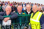 Pictured at the St Brendans v Kilmoyley County Hurling final in Abbeydorney on Sunday last were l-r: Pa Riordan (Kilmoyley) Sean McGrath (Kilmoyley) Jim Costello (Lerrig) and Mike Slattery (Ballyduff).