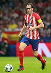 Atletico de Madrid's Diego Godin during Champions League 2017/2018, Group C, match 2. September 27,2017. (ALTERPHOTOS/Acero)
