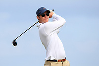 Alexander Wilson (Portmarnock) on the 9th tee during Round 2 of The East of Ireland Amateur Open Championship in Co. Louth Golf Club, Baltray on Sunday 2nd June 2019.<br /> <br /> Picture:  Thos Caffrey / www.golffile.ie<br /> <br /> All photos usage must carry mandatory copyright credit (© Golffile   Thos Caffrey)