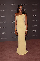 LOS ANGELES, CA - NOVEMBER 04: Naomi Campbell at the 2017 LACMA Art + Film Gala Honoring Mark Bradford And George Lucas at LACMA on November 4, 2017 in Los Angeles, California. <br /> CAP/MPI/DE<br /> &copy;DE/MPI/Capital Pictures