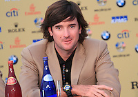 Bubba Watson at the USA Team interview at the end of the 2010 Ryder Cup at the Twenty Ten Course, Celtic Manor Resort, Newport, Wales, 4th October 2010..(Picture Eoin Clarke/www.golffile.ie)
