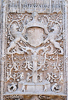 Iglesia de San Pablo church side entrance ornaments Valladolid spain castile and leon