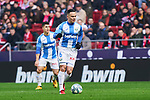 Roque Mesa of CD Leganes during La Liga match between Atletico de Madrid and CD Leganes at Wanda Metropolitano Stadium in Madrid, Spain. January 26, 2020. (ALTERPHOTOS/A. Perez Meca)