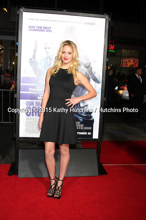 "LOS ANGELES - OCT 26:  Gage Golightly at the ""Our Brand is Crisis"" LA Premiere at the TCL Chinese Theater on October 26, 2015 in Los Angeles, CA"