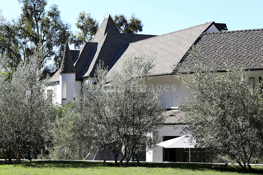 Bob and Courtney Novogratz home in Hollywood California.