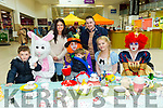Enjoying the Easter Family Fun Day and Mad Hatters Tea Party at Manor West Retail Park were Leon O'Gorman, Keegan O'Gorman, Paul O'Gorman and Rachel Willmott