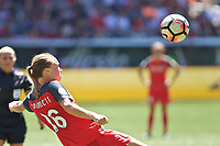 Portland, OR - Saturday August 05, 2017: Emily Sonnett during a regular season National Women's Soccer League (NWSL) match between the Portland Thorns FC and the Houston Dash at Providence Park.