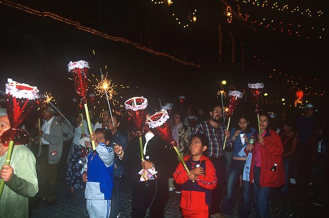 Christmas Parade, Oaxaca City, Oaxaca, Mexico