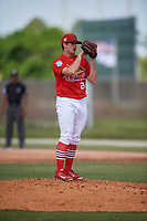 St. Louis Cardinals pitcher Ben Yokley (28) during a Minor League Spring Training Intrasquad game on March 28, 2019 at the Roger Dean Stadium Complex in Jupiter, Florida.  (Mike Janes/Four Seam Images)