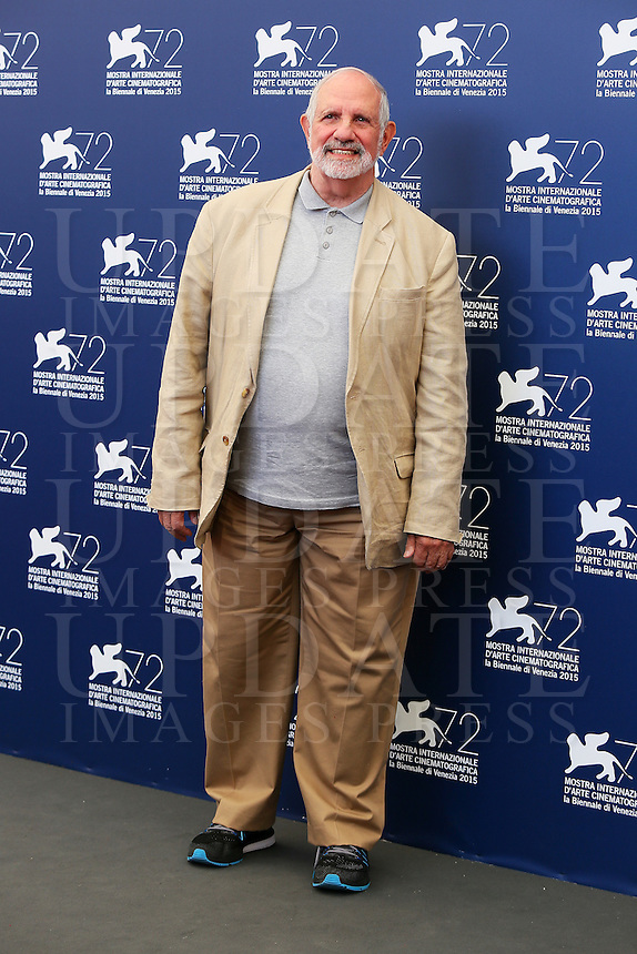 Brian De Palma attends a photocall for the documentary movie 'De Palma' and the 'Jaeger-LeCoultre Glory' award to the Filmmaker 2015 during the 72nd Venice Film Festival at the Palazzo Del Cinema in Venice, Italy, September 9, 2015.<br /> UPDATE IMAGES PRESS/Stephen Richie