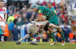 Jordan Crane of Leicester Tigers - Aviva Premiership - Leicester Tigers vs Sale Sharks - Season 2014/15 - 28th February 2015 - Photo Malcolm Couzens/Sportimage