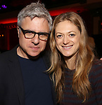 Neil Pepe and Marin Ireland attends The New York Drama Critics' Circle Awards at Feinstein's/54 Below on May 10, 2018 in New York City.