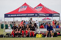 Oceanside, Ca. - The US Soccer Development Academy at the SoCal Sports Complex.