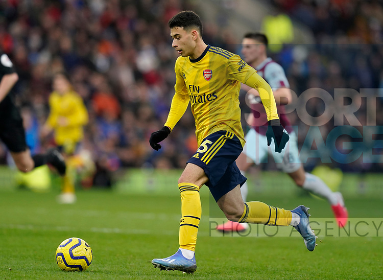 Gabriel Martinelli of Arsenal during the Premier League match at Turf Moor, Burnley. Picture date: 2nd February 2020. Picture credit should read: Andrew Yates/Sportimage