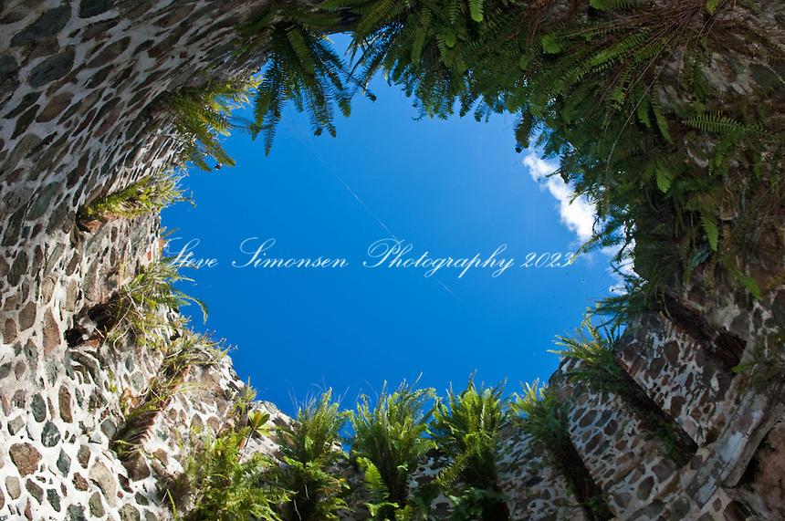 Catherineberg Ruins<br /> Virgin Islands National Park<br /> St. John<br /> U.S. Virgin Islands