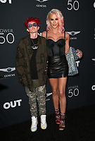 HOLLYWOOD, CA - AUGUST 10: Nats Getty, Gigi Gorgeous, at OUT Magazine's Inaugural POWER 50 Gala &amp; Awards Presentation at the Goya Studios in Los Angeles, California on August 10, 2017.<br /> CAP/MPIFS<br /> &copy;MPIFS/Capital Pictures
