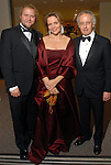 Geordie Alexander, Renee Fleming and dean Robert Yekovich at the Rice University Shepherd School of Music gala Thursday Feb. 19, 2009.(Dave Rossman/For the Chronicle)