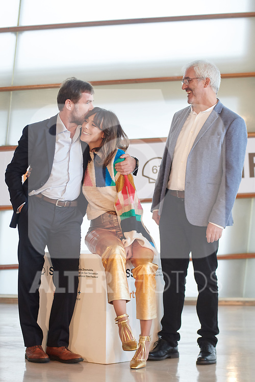 Belen Cuesta, Antonio de la Torre and Vicente Vergara attend the photocall of 'La trinchera infinita' during the 67th San Sebastian Donostia International Film Festival - Zinemaldia.September 22,2019.(ALTERPHOTOS/Yurena Paniagua)