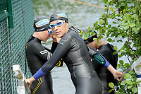20180501 - DOORNIK , BELGIUM : Triathlete Joke Coysman Team Oilservice Deinze  pictured during The Belgian Championship Team Triathlon Man and Women , a Team Triathlon in Doornik , Tuesday 1 st May 2018 , PHOTO SPORTPIX.BE | STIJN AUDOOREN