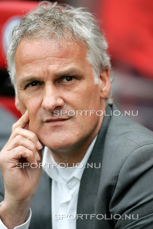 Nederland, Eindhoven, 13 april 2008.Eredivisie.Seizoen 2007-2008.PSV-FC Twente (1-1) .Fred Rutten trainer-coach van FC Twente