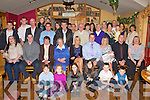 BABY JOY: Proud parents Colm O'Brien and Mary Power, Strand Road, Tralee (seated 6th & 7th left) of little Sabhdh who was Christened in St John's Church and celebrated afterwards with family and friends at Stokers Lodge restaurant and bar on Saturday.