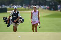 Lexi Thompson (USA) approaches the green on 4 during round 3 of the 2019 US Women's Open, Charleston Country Club, Charleston, South Carolina,  USA. 6/1/2019.<br /> Picture: Golffile | Ken Murray<br /> <br /> All photo usage must carry mandatory copyright credit (© Golffile | Ken Murray)