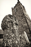 Ancient Church (520 AD), Sennen, Cornwall, UK