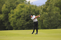 Julian Suri (USA) on the 5th fairway during Round 1 of the D+D Real Czech Masters at the Albatross Golf Resort, Prague, Czech Rep. 31/08/2017<br /> Picture: Golffile | Thos Caffrey<br /> <br /> <br /> All photo usage must carry mandatory copyright credit     (&copy; Golffile | Thos Caffrey)