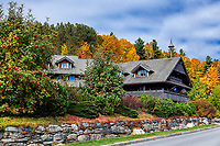 Von Trapp Family Lodge, Stowe, Vermont, USA.