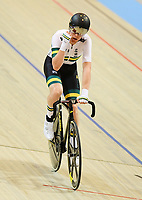 Picture by Alex Broadway/SWpix.com - 02/03/2018 - Cycling - 2018 UCI Track Cycling World Championships, Day 3 - Omnisport, Apeldoorn, Netherlands - Cameron Meyer of Australia celebrates winning the Men's Points Race Final.