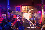 Big Burns Supper 2014, Dumfries, Le Haggis, Edd Muir Cabaret pole dancing.