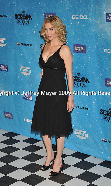 LOS ANGELES, CA. - October 17: Elizabeth Mitchell arrivs at Spike TV's Scream 2009 held at the Greek Theatre on October 17, 2009 in Los Angeles, California.
