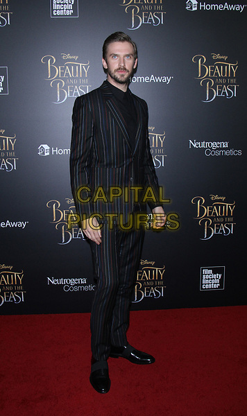 NEW YORK, NY March  13, 2017 Dan Stevens attendsWalt Disney Pictures present a special screening of Beauty &amp; the Beast at Alice Tully Hall Lincoln Center in New York March 13 , 2017. <br /> CAP/MPI/RW<br /> &copy;RW/MPI/Capital Pictures
