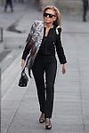 Alicia Koplowitz enters Reina Sofia museum in Madrid, Spain. March 17, 2015. (ALTERPHOTOS/Victor Blanco)