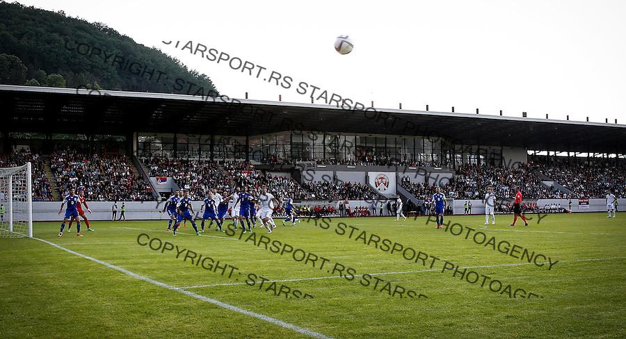 Fudbal Prijateljski Mec-International Friendli Match<br /> Srbija v Kipar<br /> Andrija Pavlovic (L) Nikola Maksimovic (R)<br /> Uzice, 26.05.2016.<br /> foto: Srdjan Stevanovic/Starsportphoto &copy;