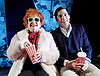 I Loved Lucy <br /> by Lee Tannen <br /> at Jermyn Street Theatre, London, Great Britain <br /> press photocall <br /> 3rd February 2016 <br /> <br /> Sandra Dickinson as Lucy <br /> <br /> Matthew Bunn as Lee <br /> <br /> <br /> Photograph by Elliott Franks <br /> Image licensed to Elliott Franks Photography Services