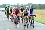 Stephen Cummings (GBR) Team Dimension Data and Thomas De Gendt (BEL) Lotto-Soudal lead the breakaway group during Stage 12 of the 104th edition of the Tour de France 2017, running 214.5km from Pau to Peyragudes, France. 13th July 2017.<br /> Picture: ASO/Alex Broadway | Cyclefile<br /> <br /> <br /> All photos usage must carry mandatory copyright credit (&copy; Cyclefile | ASO/Alex Broadway)
