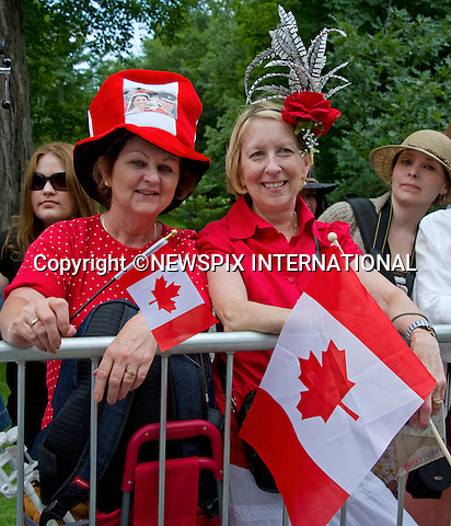 "WILLIAM & KATE OFFICIAL WELCOME AND NCR CEREMONY_Royal Fans.Rideau Hall, Government House, Ottawa_30/06/2011.Mandatory Credit Photo: ©NEWSPIX INTERNATIONAL..**ALL FEES PAYABLE TO: ""NEWSPIX INTERNATIONAL""**..IMMEDIATE CONFIRMATION OF USAGE REQUIRED:.Newspix International, 31 Chinnery Hill, Bishop's Stortford, ENGLAND CM23 3PS.Tel:+441279 324672  ; Fax: +441279656877.Mobile:  07775681153.e-mail: info@newspixinternational.co.uk"