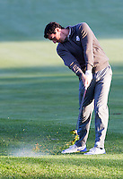 Rory McIlroy (Team Europe) on the 3rd fairway during the Saturday morning Foursomes at the Ryder Cup, Hazeltine national Golf Club, Chaska, Minnesota, USA.  01/10/2016<br /> Picture: Golffile | Fran Caffrey<br /> <br /> <br /> All photo usage must carry mandatory copyright credit (&copy; Golffile | Fran Caffrey)