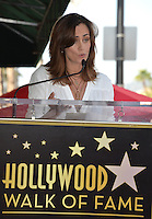 LOS ANGELES, CA. October 25, 2016: Diane Farr at the Hollywood Walk of Fame star ceremony honoring British actor Hugh Laurie.<br /> Picture: Paul Smith/Featureflash/SilverHub 0208 004 5359/ 07711 972644 Editors@silverhubmedia.com