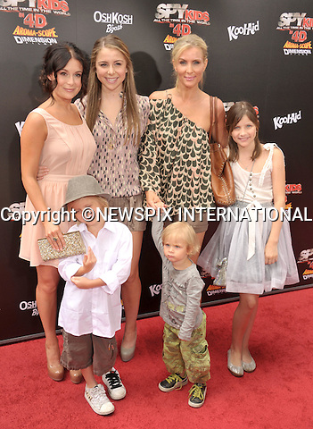 "ALEXA VEGA, SISTER MAKENZIE VEGA AND FAMILY.attends the World Premiere of ""Spy Kids: All The Time In The World"" at the Regal Cinemas, L.A. Live, Los Angeles, California_31/07/2011.Mandatory Photo Credit: ©Crosby/Newspix International. .**ALL FEES PAYABLE TO: ""NEWSPIX INTERNATIONAL""**..PHOTO CREDIT MANDATORY!!: NEWSPIX INTERNATIONAL(Failure to credit will incur a surcharge of 100% of reproduction fees).IMMEDIATE CONFIRMATION OF USAGE REQUIRED:.Newspix International, 31 Chinnery Hill, Bishop's Stortford, ENGLAND CM23 3PS.Tel:+441279 324672  ; Fax: +441279656877.Mobile:  0777568 1153.e-mail: info@newspixinternational.co.uk"