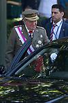 King Juan Carlos of Spain attends 2014 Spain Armed Forces Day in Madrid, Spain. June 08, 2013. (ALTERPHOTOS/Victor Blanco)