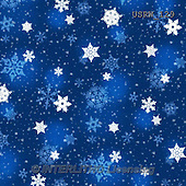 Randy, GIFT WRAPS, GESCHENKPAPIER, PAPEL DE REGALO, paintings+++++P-Snowflakes-blue-dark,USRW129,#GP# Christmas napkins