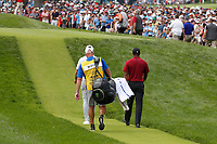 Tiger Woods (USA) walks the 6th hole during the final round of the 100th PGA Championship at Bellerive Country Club, St. Louis, Missouri, USA. 8/12/2018.<br /> Picture: Golffile.ie | Brian Spurlock<br /> <br /> All photo usage must carry mandatory copyright credit (&copy; Golffile | Brian Spurlock)
