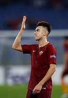 Calcio, Europa League, Gguppo E: Roma vs Austria Vienna. Roma, stadio Olimpico, 20 ottobre 2016.<br /> Roma&rsquo;s Stephan El Shaarawy celebrates after scoring during the Europa League Group E soccer match between Roma and Austria Wien, at Rome's Olympic stadium, 20 October 2016. The game ended 3-3.<br /> UPDATE IMAGES PRESS/Isabella Bonotto