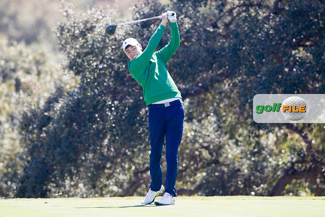 Kevin LeBlanc (IRL) during the 1st round of the European Nations Cup, Real Club de Golf Sotogrande, Paseo del Parque, 11310 Sotogrande, C&aacute;diz  29/03/2017.<br /> Picture: Golffile | Fran Caffrey<br /> <br /> <br /> All photo usage must carry mandatory copyright credit (&copy; Golffile | Fran Caffrey)